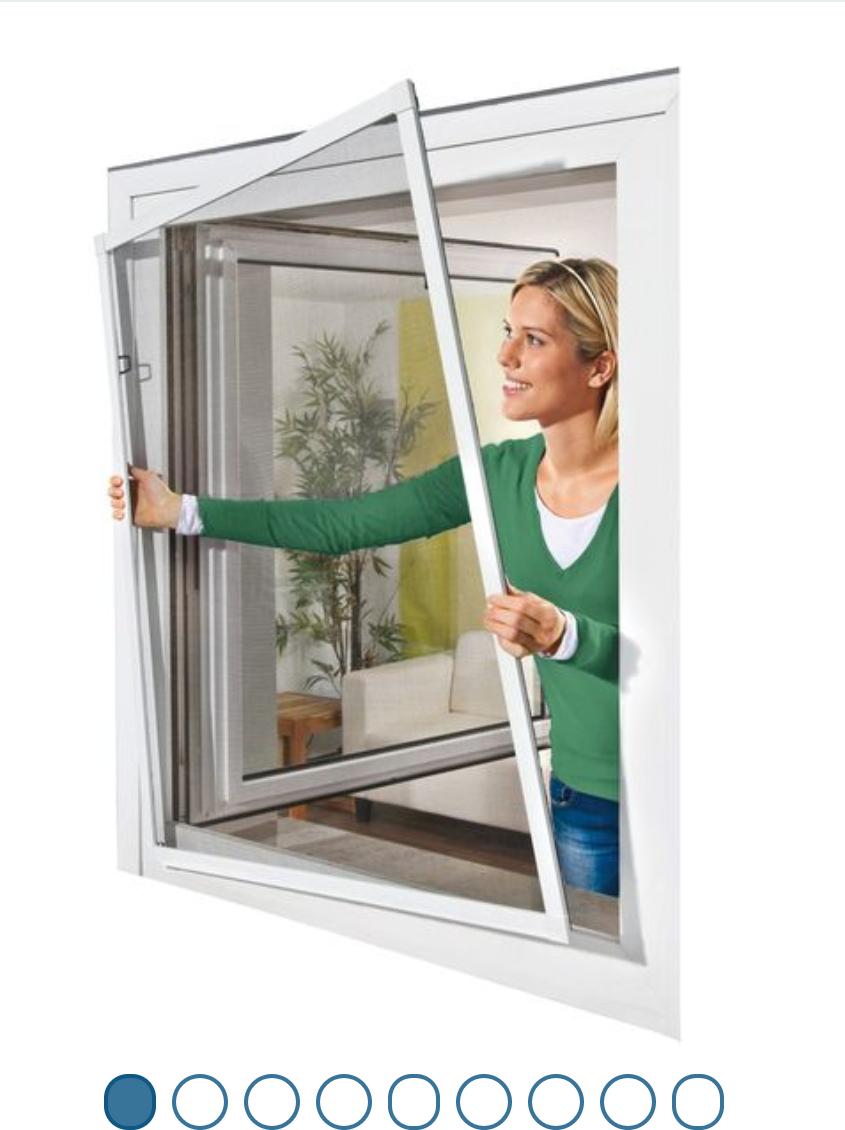 LIDL-online Powerfix Alu Insektenschutz Fenster 130 x 150 cm für 12,00 EUR zzg. Versand