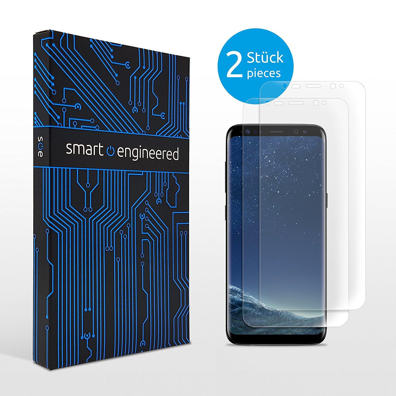 [Amazon] smart.engineered Samsung Galaxy S8 Schutzfolie 2 Stück (kein Panzerglas) für 1€