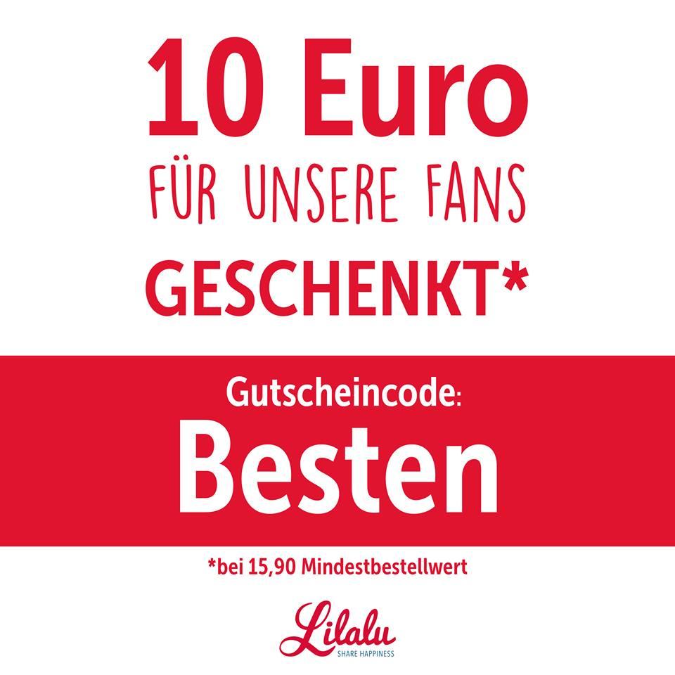 Quietscheenten und Plüschtier Shop LILALU bietet 10€ Rabatt