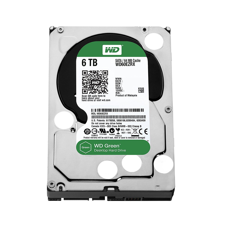 (Amazon.fr Preisfehler) WD Green 6TB (3,5) für 74,34€