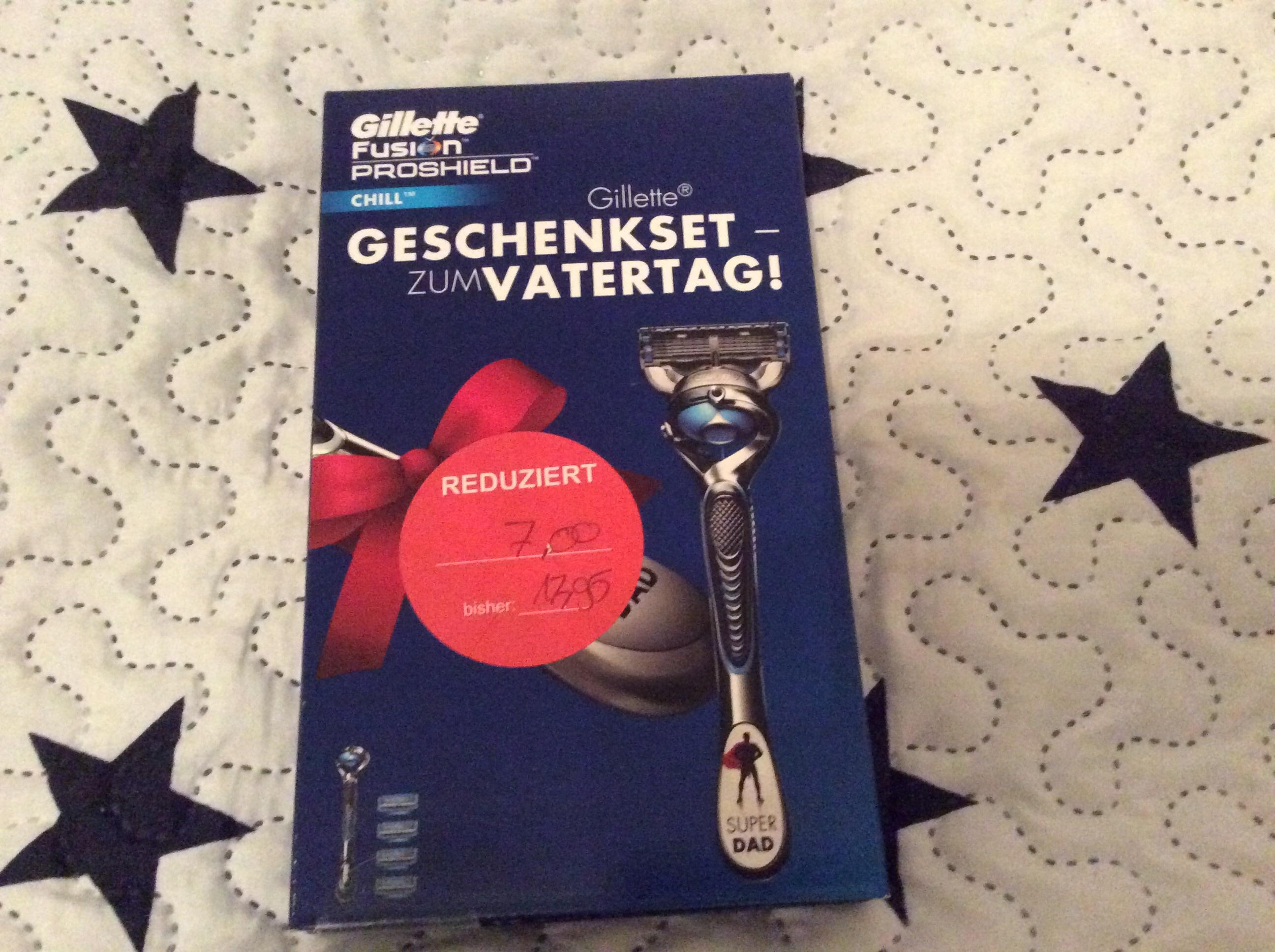 [ Lokal Friedrichsdorf ] Gillette Fusion Proschield Rasierer +4 Klingen