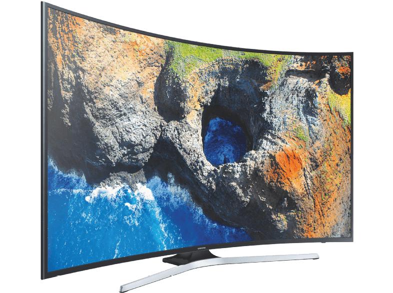 Samsung UE65MU6279 UHD TV (65'' UHD Edge-lit curved HDR HLG, 1400Hz [interpol.], Triple Tuner, 3x HDMI, 2x USB, Smart TV, VESA) für 1299€ + 200€-Coupon [Saturn]