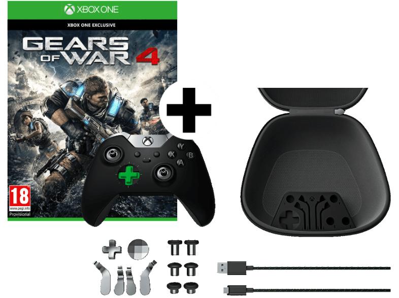 Xbox Elite Controller + Gears of War 4 für 100€ inkl. Versand nach DE [Mediamarkt.at]