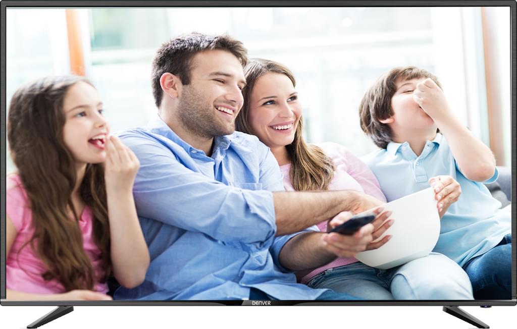"DENVER 49"" (124 cm) 4K Ultra-HD-LED-TV 4969T2CS mit Triple Tuner für 344€ [Real]"