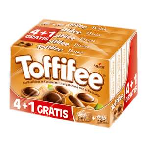 (ALDI Nord) ab 09.10.17 Toffifee 4+1 / 625-g-Packung