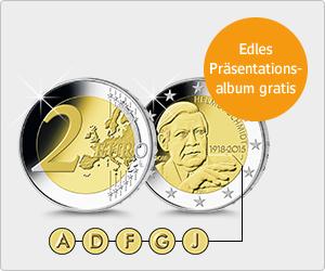[WEB.DE] 5x 2€ Sondermünze + 7,50€ oder 15,00€ Cashback in Form von WEB.Cent + Präsentationsalbum