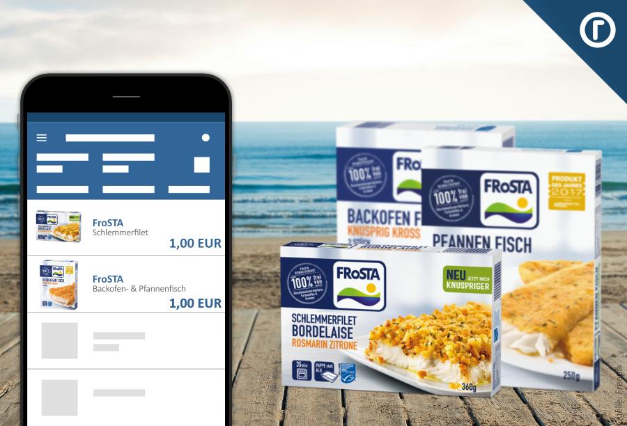 Frosta Backofenfisch 0,99 EUR durch Kombination netto + reebate