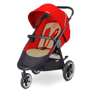 cybex Gold Buggy Eternis M-3 in Autumn Gold-burnt Red *UPDATE*
