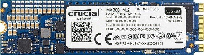 Crucial MX300 M.2 SSD mit 525GB für 126,36€ [Masterpass] [NBB]