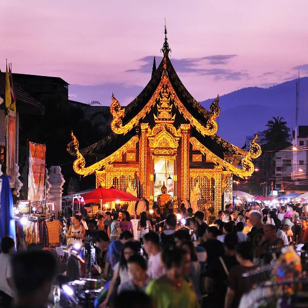 Flüge: Thailand [November - März] - Hin- und Rückflug von Düsseldorf nach Chiang Mai ab nur 388€ inkl. Gepäck
