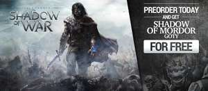 [Gamivo.com] Middle-earth: Shadow of War Day One - TOP Preis! mit Shadow of Mordor GOTY FREI für 29,25€