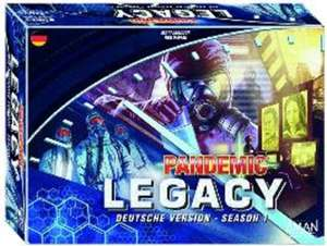 Pandemic - Legacy - Season 1 für  20,59 € (idealo 43,16 €)