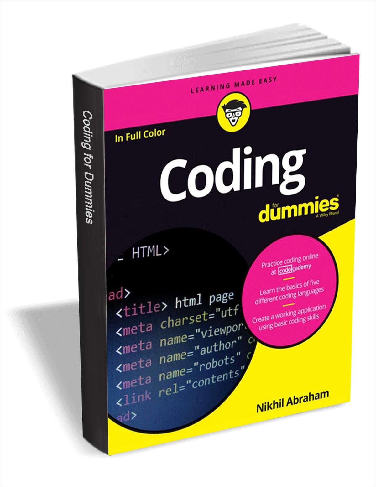 Coding For Dummies (eBook) kostenlos statt 20€
