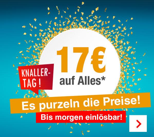 17 EUR Gutschein auf Alles außer Mode bei Quelle/Otto (MBW 75 EUR) + kostenloser Versand