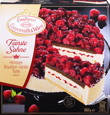 [Kaufland] Coppenrath & Wiese Feinste SahneHimbeer Bourbon-Vanille Torte für 5,88€ statt 10,49€