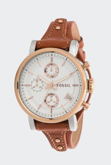 FOSSIL BOYFRIEND(Damenuhr) - Chronograph ES3837 - 27%