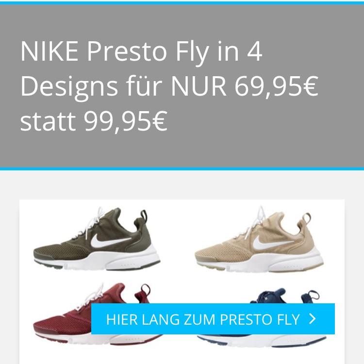Nike Sportswear Presto Fly - Sneaker