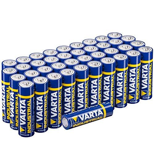 [Amazon Prime] Varta Batterien Mignon AA LR6 Made in Germany Vorratspack 40 Stück in umweltschonender Verpackung (0,22€ / Stück)