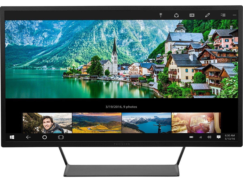 [Amazon Prime only oder NBB] HP Pavilion 32 V1M69AA 81,28 cm (32 Zoll) Monitor (QHD, WVA+, HDMI, DisplayPort, USB, 7ms Reaktionszeit) schwarz