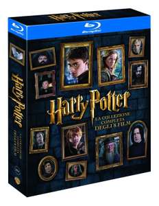 Harry Potter [Blu-ray] Komplettbox mit Deutscher Tonspur inkl. Vsk für 23,47 € > [amazon.it]