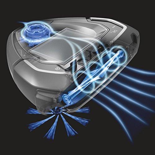 -100€ Aktion AEG RX9-1-SGM Saugroboter (TrinityShape Bauweise, 3D Vision Technologie & Mapping Navigation, AirExtreme Technologie, PowerBrush Bürstenrolle, Lithium UHD-Akku bis zu 60 Min. Laufzeit) Grau AMAZON