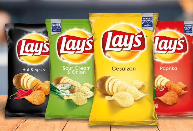 4 Packungen Lay's Chips kaufen - 5 Euro Einkaufsgutschein bekommen (Freebie möglich)