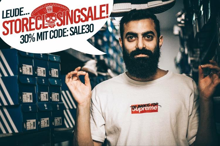 Sneaker Closing Sale!