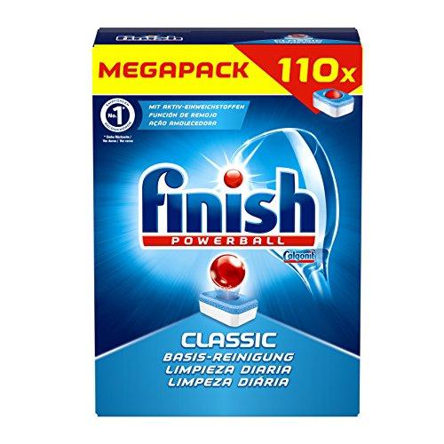 Finish Classic, Spülmaschinentabs, Megapack, 110 Tabs mit Gutschein und Sparabo für 5,46 €