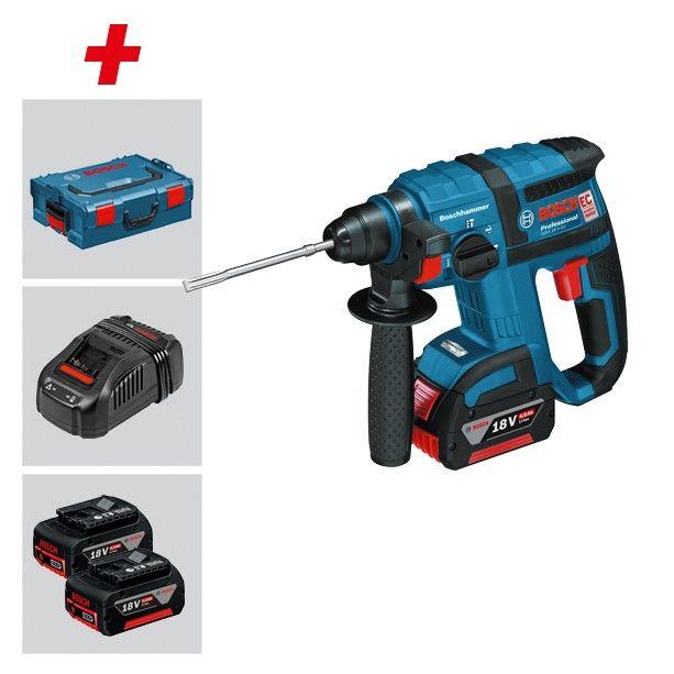 Bosch Professional Akku-Bohrhammer GBH 18 V-EC 3 x 18 V Li-Ion Akku, L-BOXX bei Zoro mit Gutschein 211 Euro