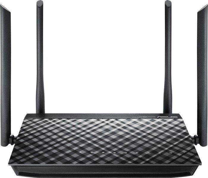 ASUS RT-AC1200G Plus AC1200 WLAN-Router (WLAN a/b/g/n/ac/h Dualband 2,4GHz + 5GHz, 4x Gb LAN, 1x USB, VPN passthrough) für 55,50€ [Office-Partner]