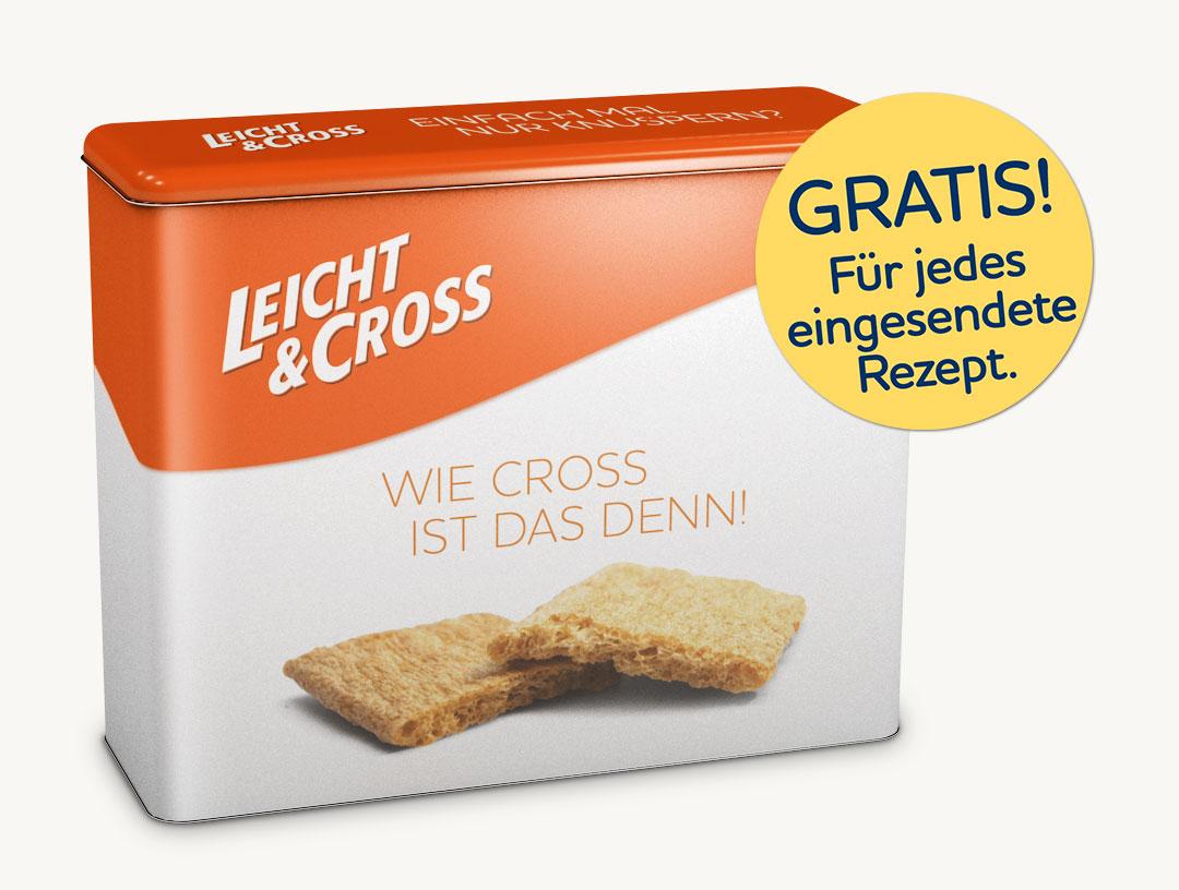 Leicht & Cross: Gratis Vorratsdose für ein Rezept