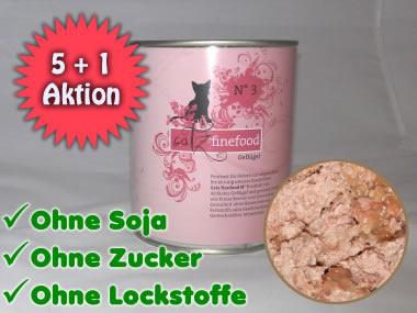4,8Kg hochwertiges Catz Finefood Katzenfutter
