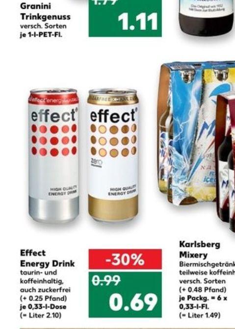 Effect energy für 0,69€ @kaufland ab 12.10.2017