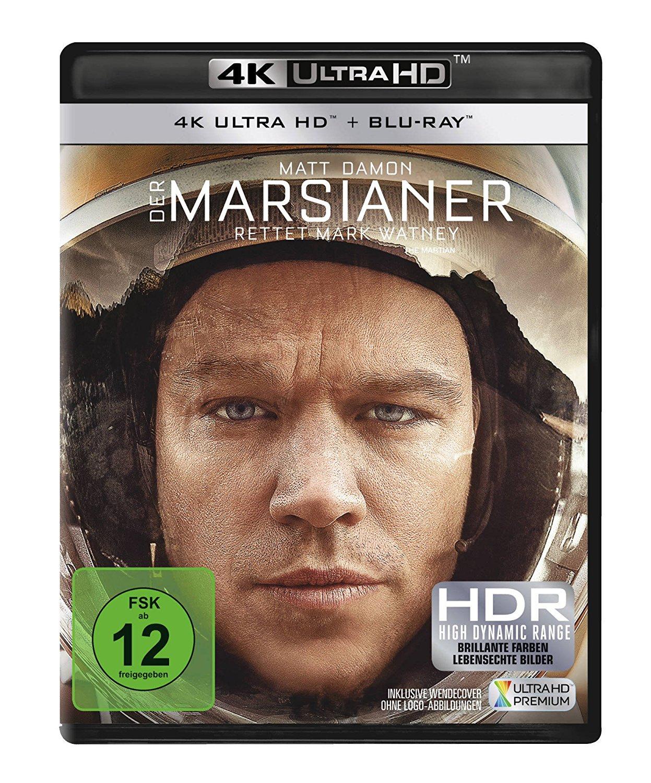 Der Marsianer - Rettet Mark Watney (4K Ultra HD Blu-ray + Blu-ray) für 17€ (Amazon Prime)