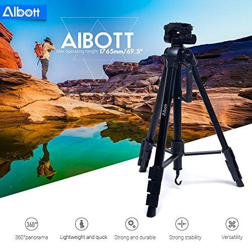 Albott 178CM / 70-Zoll Aluminium-Stativ mit Tragetasche mit 40% Rabatt auf Amazon
