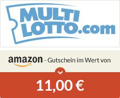 [Spartanien] Neukunden Multilotto 6 EuroJackpot Felder für einmalig nur 4€ + 11€ Amazon-Gutschein