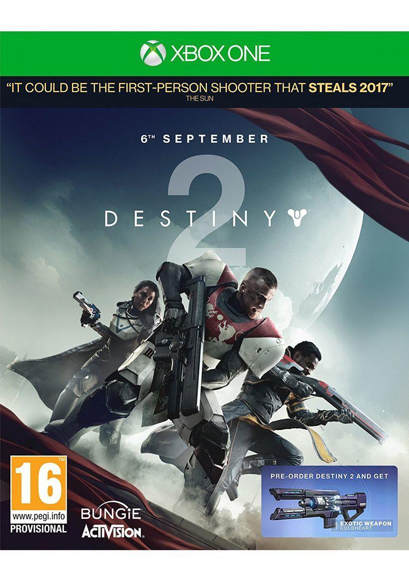 Destiny 2 (Xbox One) für 36,24€ (Simplygames)