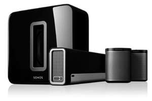 Sonos 5.1 Heimkino Set (Playbar + SUB + 2x Play:1)