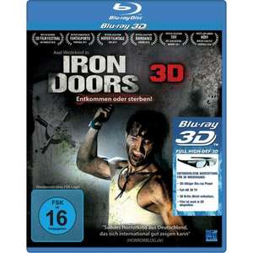 [ 3D Blu-ray ] Iron Doors - Entkommen oder sterben! (3D Version inkl. 2D Version) für 5,06 EUR inkl. Versand @ Amazon.de