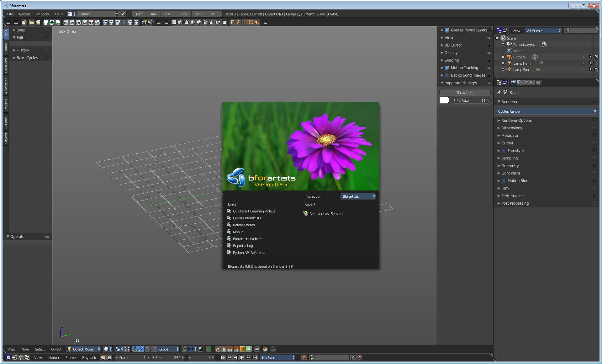 """""""Bforartists"""" umfangreiches, kostenloses 3D-Animationsprogramm"""