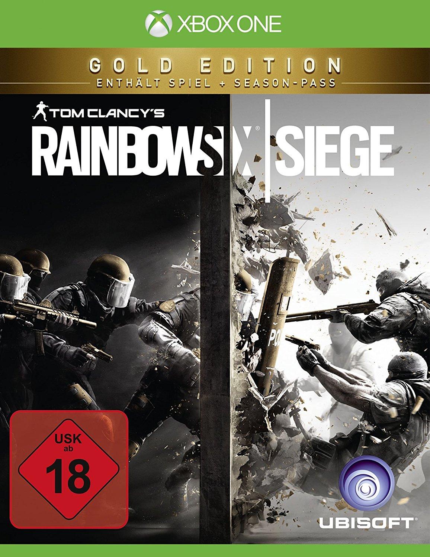 Tom Clancy's Rainbow Six: Siege Gold Edition (Xbox One & PS4) für je 25€ versandkostenfrei (Saturn)