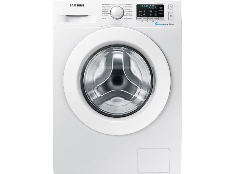 [SATURN] Samsung Waschmaschine WW7RJ5535MW/EG (7 kg Waschmaschine, Frontlader, 1400 U/Min., A+++) für 299€