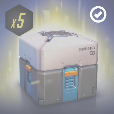[Twitch / Amazon Prime] 5x Overwatch Standard Lootboxen Gratis