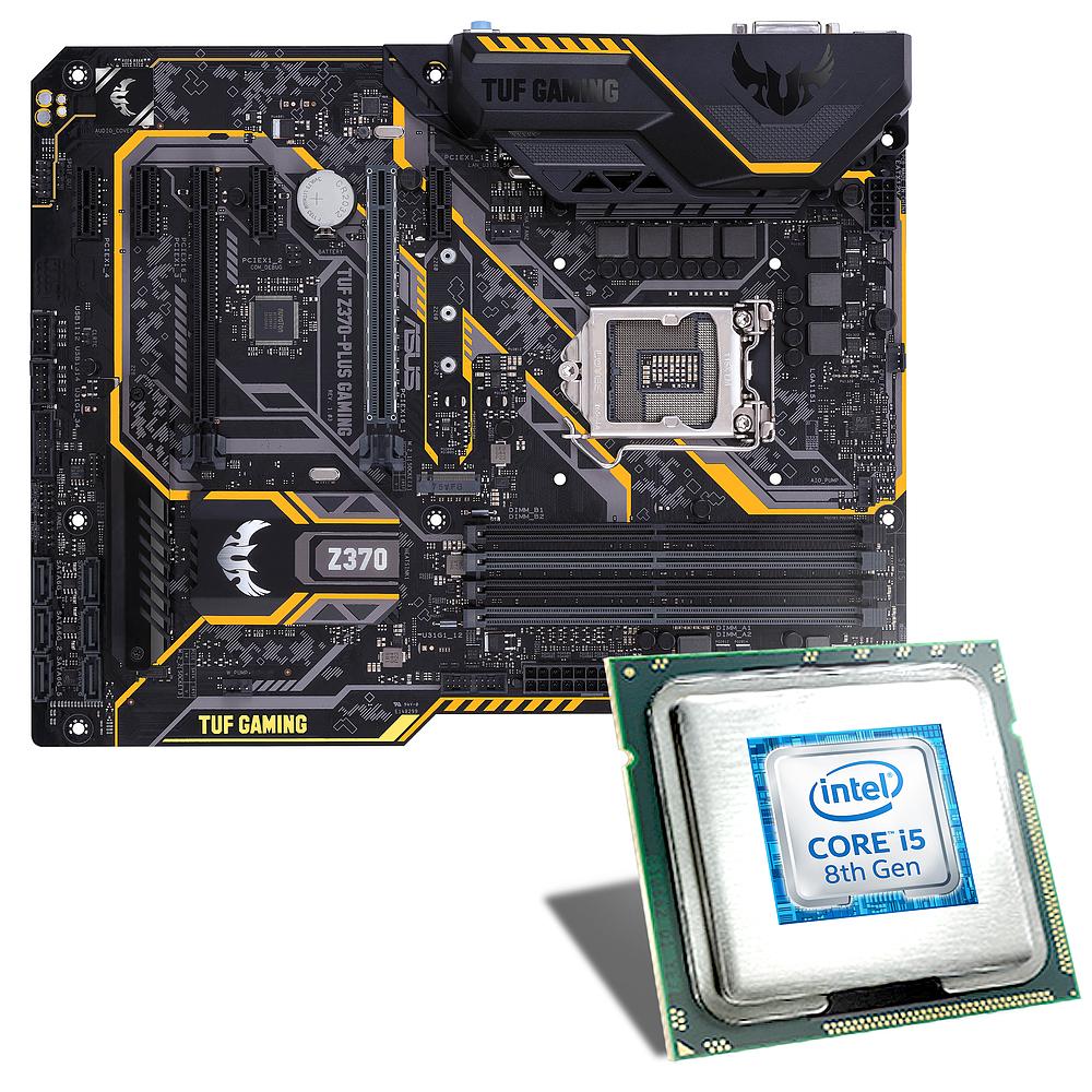 [CSL] BUNDLE: Intel I5-8400 + Asus Z370-PLUS GAMING + Scythe® Katana 3