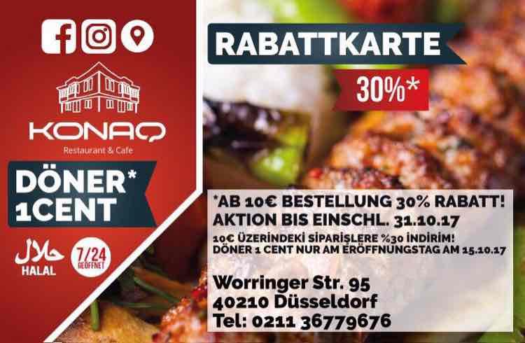 Lokal Düsseldorf DÖNER 1CENT