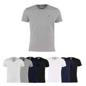 Hilfiger Denim Basic Herren T-Shirt in mehreren Farben und Größen bei eBay