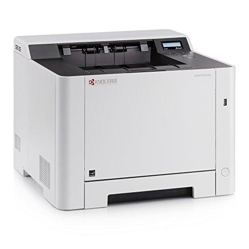 Kyocera Ecosys P5021cdw Farblaserdrucker (drucken bis zu 21 Seiten/Minute, 1.200 dpi, wlan)