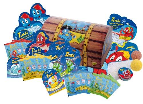 Tinti Schatztruhe (23-teilig) Ein bunter Schatz für die Wanne für 14,99€ (Amazon Prime)