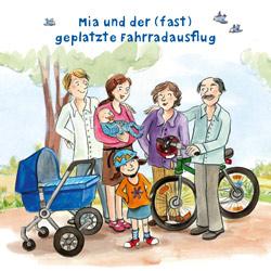 [pfizer] Kinderbücher zum Thema Impfen und Gesundheit: Mia und der fast geplatzte Fahrradausflug + Ritter Kunibald