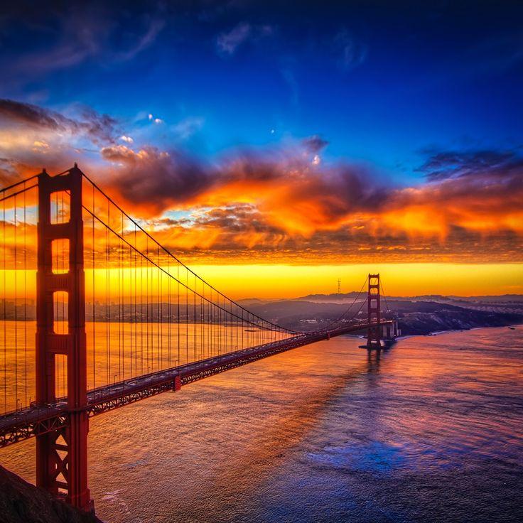 Flüge: Kalifornien [November - Mai & XMAS] - Hin- und Rückflug mit Lufthansa von Billund nach San Francisco ab nur 294€ i